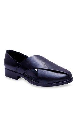 Fashion Victim Koyo Black Slip-Ons