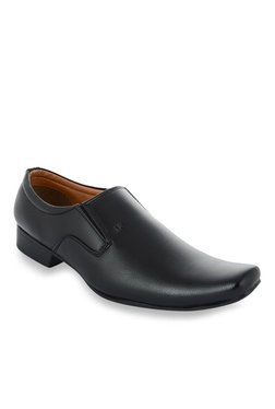 Fashion Victim Corporate Special Black Slip-Ons