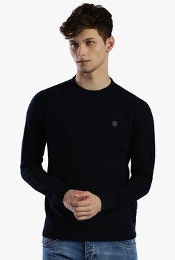 883 Police Navy Slim Fit Sweatshirt
