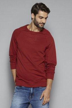 Westsport Casual By Westside Rust Relaxed Fit Pullover