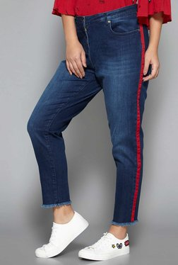 Sassy Soda Curve By Westside Blue Riya Jeans