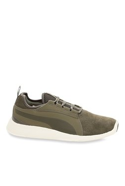 8c0f6b3b05a Puma ST Trainer Evo SD V2 Olive Night Training Shoes
