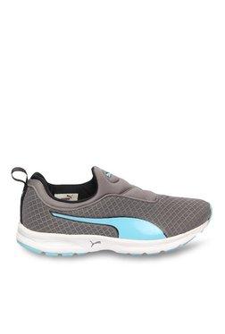 Puma Burst NM Quiet Shade & Aqua Blue Running Shoes