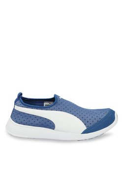 b0b6e87a0e7 Puma ST Trainer Evo DP True Blue   White Training Shoes