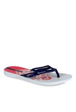 Ipanema Navy & Grey Flip Flops