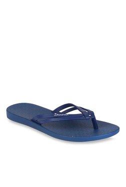 Ipanema Navy Blue Flip Flops