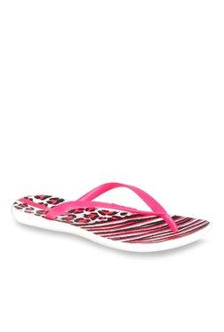 201f60fb2c1 Ipanema Pink   Black Flip Flops
