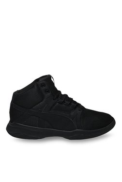 Puma Rebound Street Evo Black Ankle High Sneakers