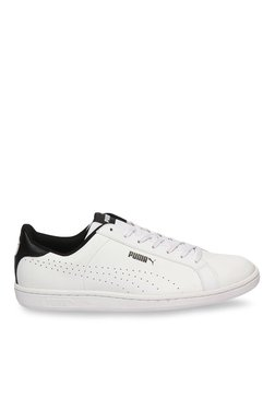 Puma Smash Perf White & Black Sneakers