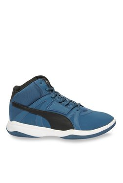 Puma Rebound Street Evo SL Sailor Blue Ankle High Sneakers