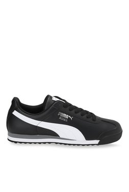 Puma Roma Basic Black & White Sneakers