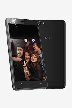 Intex Aqua Selfie 16 GB (Black) 2 GB RAM, Dual SIM 4G