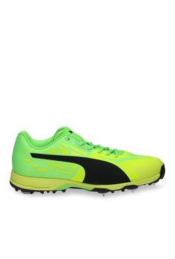 346913d8410063 Puma EvoSPEED 360.1 Spike White   Fiery Coral Cricket Shoes Best ...