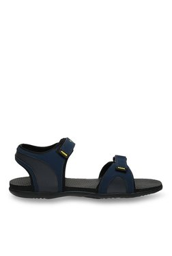 Puma Relay IDP Blue Wing Teal & Yellow Floater Sandals