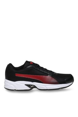 Puma Nimbus IDP Black & High Risk Red Running Shoes