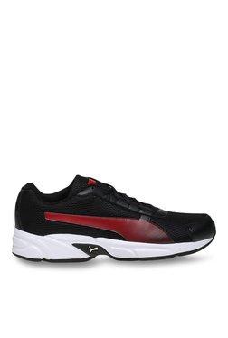 Puma Nimbus IDP Black & High Risk Red Running Shoes