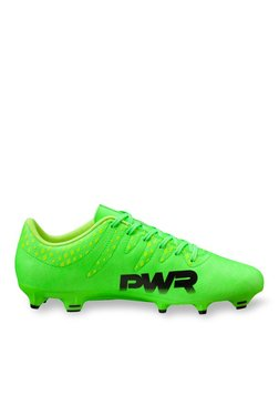 e0201a51b9bd Puma evoPOWER Vigor 4 FG Green Gecko   Black Football Shoes
