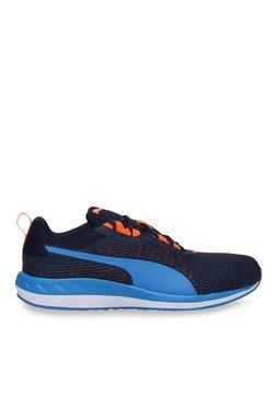 Puma Flare 2 Dash Peacoat & Orange Clown Fish Running Shoes