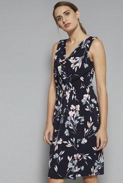 Wardrobe By Westside Dark Navy Zenith Dress