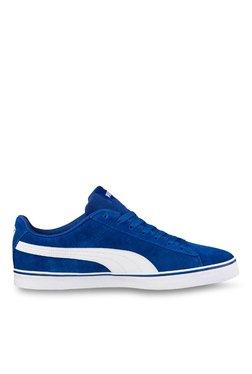 Puma 1948 Vulc True Blue & White Sneakers