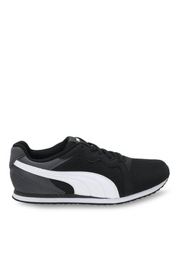 Puma Pacer IDP Black & White Sneakers