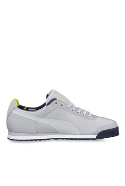 Puma Roma Basic Geometric Camo Light Grey Sneakers