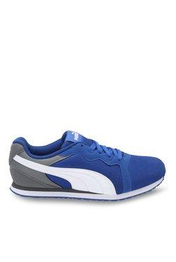 Puma Pacer IDP True Blue & White Sneakers