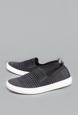 SOLEPLAY By Westside Black Striped Loafers