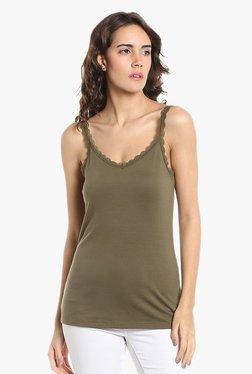 Vero Moda Olive Lace Cami Top