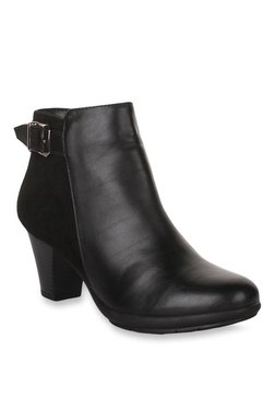 Bruno Manetti Black Casual Booties - Mp000000002032153