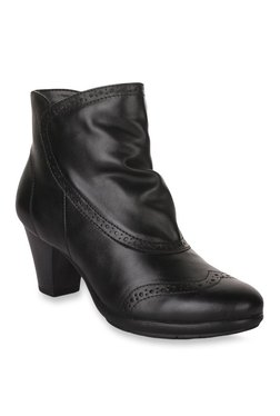 Bruno Manetti Black Casual Booties - Mp000000002032164