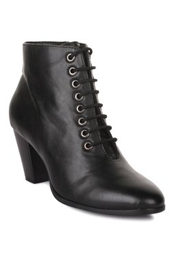 Bruno Manetti Black Casual Booties - Mp000000002032202