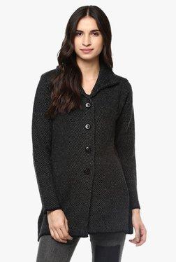 Cayman Grey Textured Coat