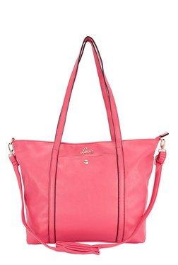 Lavie Aborginal Fuchsia Solid Shoulder Bag