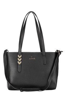Lavie Tatar Black Solid Shoulder Bag