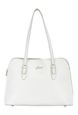 Lavie Westford White Solid Shoulder Bag