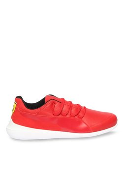 3b730d41ac5 Puma Ferrari SF Evo Cat Rosso Corsa Sneakers