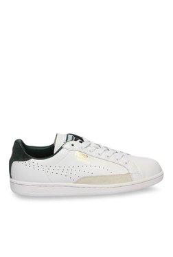 314b3a03ca9 Puma Match 74 UPC White   Green Gables Sneakers