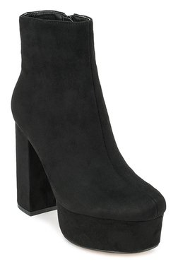 Truffle Collection Bold Black Casual Booties - Mp000000002042856