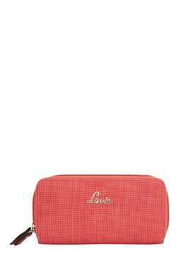 Lavie Papel Red Textured Wallet