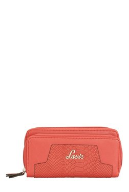 Lavie Roma Red Textured Wallet