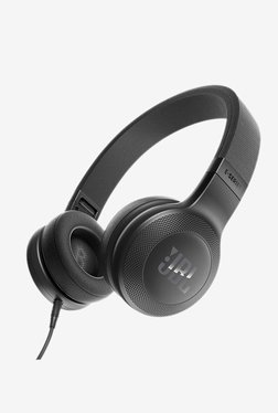 JBL E35 On the Ear Earphones with Mic (Black)