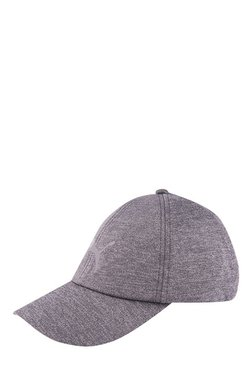 Puma Evolution Grey Solid Polyester Baseball Cap