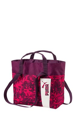 Puma Core Style Purple & Love Potion Printed Shoulder Bag