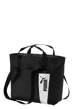 Puma Core Style Black Solid Polyester Shoulder Bag