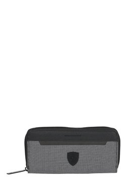 Puma Ferrari LS Black & White Printed Polyester Wallet