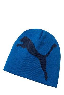Puma ESS Big Cat Lapis Blue Solid Cotton Beanie