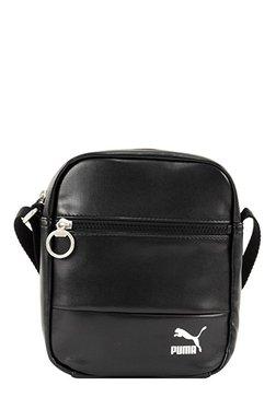 Puma Originals Black Solid Sling Bag d3147a7d5046c