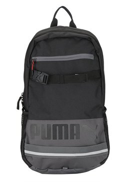 b94487b41ec2 Puma Deck Black Solid Polyester Laptop Backpack