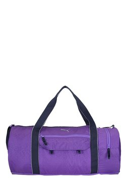 Puma Fit AT Electric Purple Printed Polyester Gym Bag